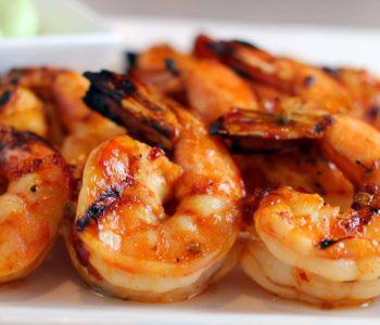 Crevettes grillées à la tunisienne